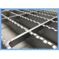 Press Locked Steel Grating Expanded Metal Mesh 40 X 100 Mm Pitch Manufactures