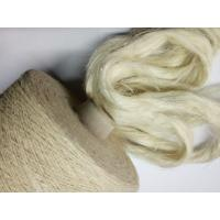 China Semi Bleached White Hemp Fibres for Cool Spring Summer Cloth Weaving wholesale