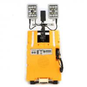 China DC25.9v Firefighter Rescue Equipment Mobile Lighting System 130000 Luminous on sale