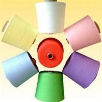 China Filament Eco - friendly 100% ring spun dyed virgin yarn for weaving 24s/1 - 60s/1 on sale