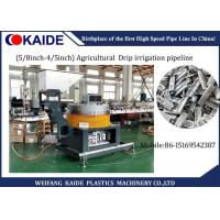 16mm / 20mm Plastic Pipe Production Line For Agricultural  Drip Irrigation Pipeline Manufactures