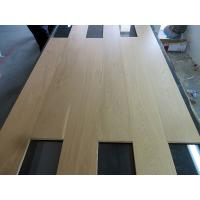 China Transparent Lacquered Oak Engineered Wood Flooring with selected ABC grade on sale