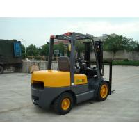 China Large Capacity Small Electric Forklift , 3.5 Ton Counterbalance Forklift Truck on sale