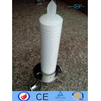 PP Filter Cartridge N6 PTFE With Deep Filtration / Large Filtration Area Manufactures