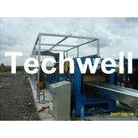 Electric Cutting 17 Stations 17.7KW Large Span Roof Panel Roll Forming Machine 45# Steel Manufactures