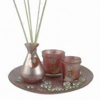 Reed Fragrance Diffuser with 90mL Capacity and Glass Beads Manufactures
