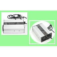 Wheel Chair 2A 48 Volt Battery Charger , SLA / Lithium Ion Battery Charger With Black Silver Case Manufactures