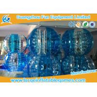 China Funny Customized Human Inflatable Bubble Ball Outdoor Inflatable Sport Games on sale
