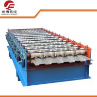 Fully Automatic Sheet Metal Roll Forming Machine For Container Panel / Car Board Manufactures