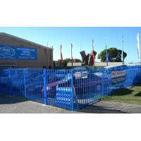 garrison Fence Steel Tubular 2100mm x 2400mm spear 25mm x 25mm Manufactures