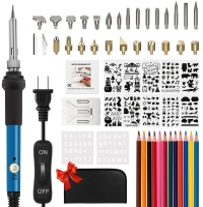102PCS 900M Soldering Tips 60W 14cm Length Wood Burner Tools Manufactures