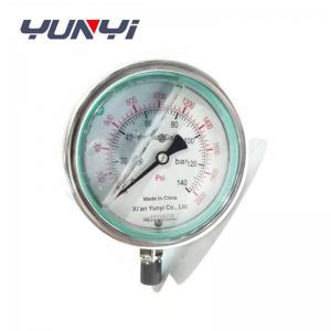 China oil filled pressure gauge on sale