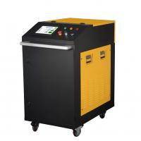 Hand-held 200W Metal Laser Cleaning Machine For Metal Steel With Water Cooling Manufactures