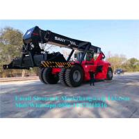 Kalmar 45 Ton 40ft Container Reach Stacker Forklift , Container Moving Equipment Manufactures