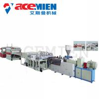 China PVC Foam Boad Plastic Plate Making Machine With Capacity 400kg/H 600kg/H on sale