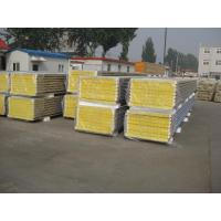 Mineral Wool Insulated Sandwich Panels For Steel Structure Panels Manufactures