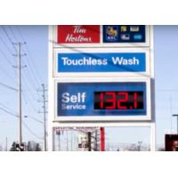 Led Digit Segment digital price sign gas station 22000 nits Brightness Manufactures