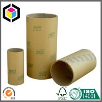 Buy cheap Brown Kraft Paper Tube for Adhesive Tape; Double Sided Tape Paper Tube Core from wholesalers