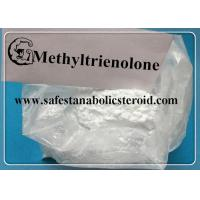 White Raw Steroid Powders Methyltrienolone  for muscle binding and performance boosting Manufactures