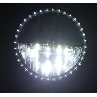 1 Pair 7 INCH White 30W 6000K Round LED Daytime Running Light DRL Car Fog Day Driving Lamp Manufactures