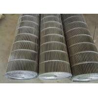 Food Cooling Enrober Wire Belt Heavy Load Anti Acid Flat Carrying Surface Manufactures