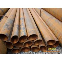 Ellipse, Circle, Square, Rectangle galvanized / coated / black Welded Steel Pipes / Pipe Manufactures