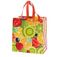 Multi Color Eco Friendly Non Woven Shopping Bag , Laminated Grocery Bag Manufactures