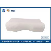 Standard Size Slow Rebound Memory Foam Comfort Curve Pillow With Aloe Vera Pillow Case Manufactures