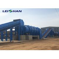 Blue Waste Paper Baling Machine , Paper Baling Press Machine For Paper Recycling Company Manufactures