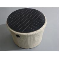 Double Glass Round Solar Panel Light Kit 12v Support USB Mobile Charger IP65 Manufactures