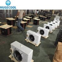 Dj type industrial air evaporator cooler in refrigeration for meat deep freezer Manufactures