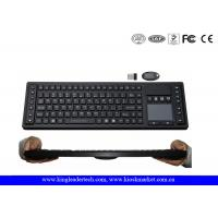 China Waterproof 2.4GHz Wireless Keyboard with Function Keys , Layout Customized on sale