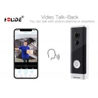 Battery Powered Ront Door Camera Doorbell HD 720P With Real Time Voice Intercom Manufactures