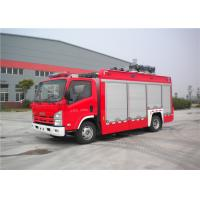 Three Seats Light Fire Truck Japan Chassis With One Key Automatic Reset Manufactures