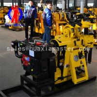 130m depth water well drilling machine /full hydraulic core drilling rig /impact high speed rock core drill rig