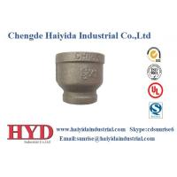 socket reducing black malleable iron pipe fitting cast iron UL factory Manufactures