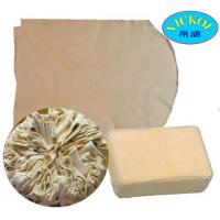 China 100% Cod Liver Oil Tanned Genuine Chamois Leather on sale