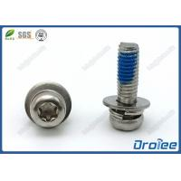 China Torx Pan Head SEMS Self-Locking Screws w/ Double Washers Stainless 304/316/18-8 on sale