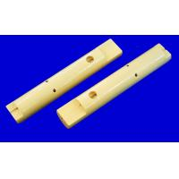 White Alumina Ceramic Tubes Tubing With Surface Finish Ra 0.4 / sim Ra 0.8 Manufactures