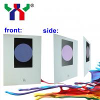 B3 Blue to Purple Red optical variable ink Manufactures