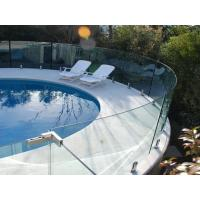 Spigots glass railing frameless glass spigot glass clamp railing for pool fence Manufactures