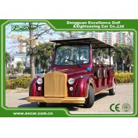 Excar Red Electric Classic Cars With Trojan Battery ,CE Approved Manufactures