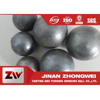 HRC 60-68 Hardness Grinding Steel Balls for Mining and Cement Plant Ball Milling Manufactures