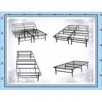 China Foldable Metal Platform Bed Frame and Mattress Foundation - Twin on sale