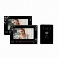9-inch Touchscreen Video Intercom System, Can Connect 4 CCTV Cameras, with Recording Functions Manufactures