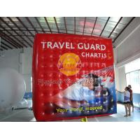 Inflatable Cube Balloon with Six Sides Digital Printing , Square Balloons for Parade Manufactures