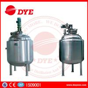Sanitary Dense Stainless Steel Tanks Magnetic Agitator Jacket Reactor Airtight Manufactures