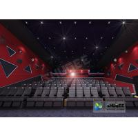55 Inch Display 60 People 4D Digital Cinema Equipment With Blue Color 4 Motion Seat Manufactures