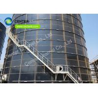 China Anti - Adhesion Steel Potable Water Storage Tanks in Glass Lined Panel on sale