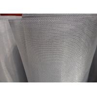 Light Weight Stainless Steel Security Screen 18 X 16 Mesh With Uniform Finish Manufactures